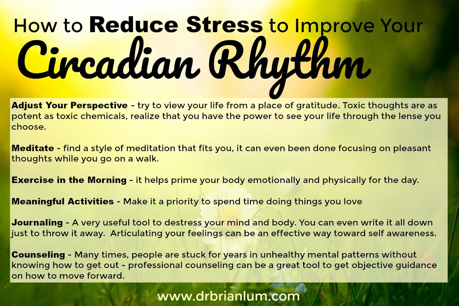 6 Ways To Reset Your Circadian Rhythm With Images Circadian