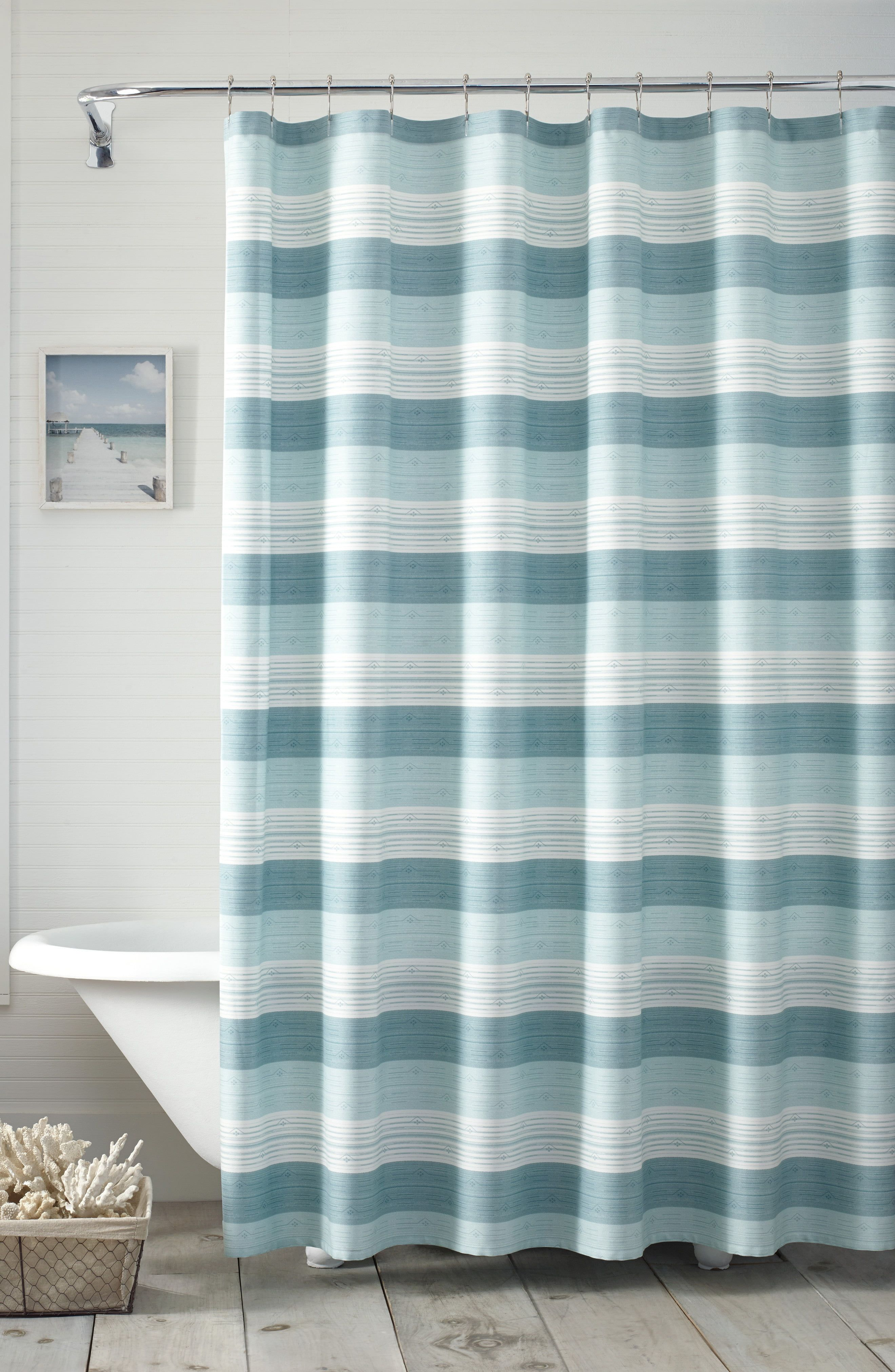 Tommy Bahama Hula Beach Shower Curtain Size One Size Blue