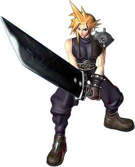 Cloud Strife Cg Characters Art Final Fantasy Vii