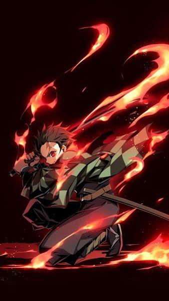 Tanjirou Kamado Kimetsu No Yaiba 4k 3840x2160 Wallpaper Slayer Anime Anime Demon Awesome Anime