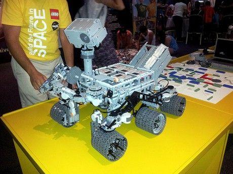 Mars Rover Curiosity: LEGO Nachbildung für eine NASA Veranstaltung