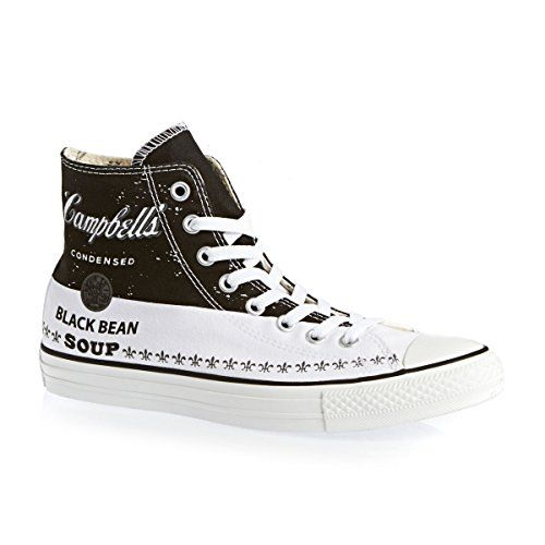 Converse Chuck Taylor All Star High Top Andy Warhol Mens Sneakers 147051C Converse Black 9.5 M US Converse