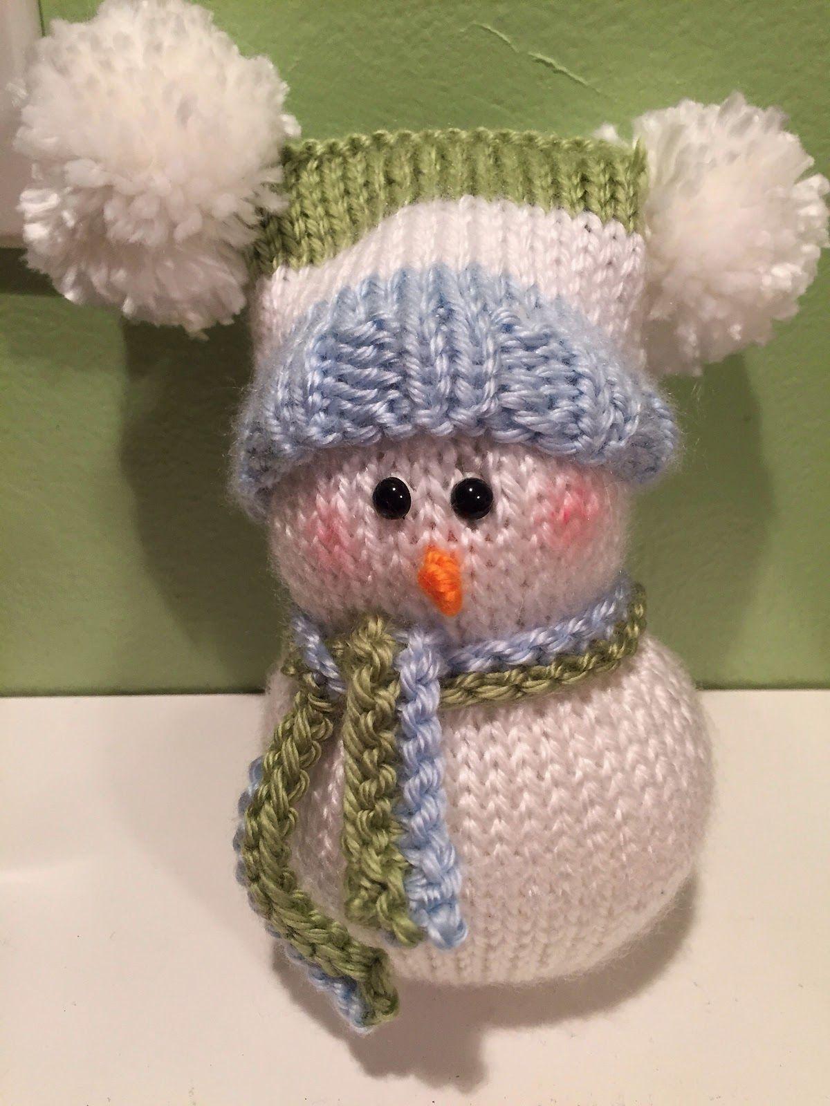 cheryl's blog: Knitted Snowman Pattern !!   Snowmen ...