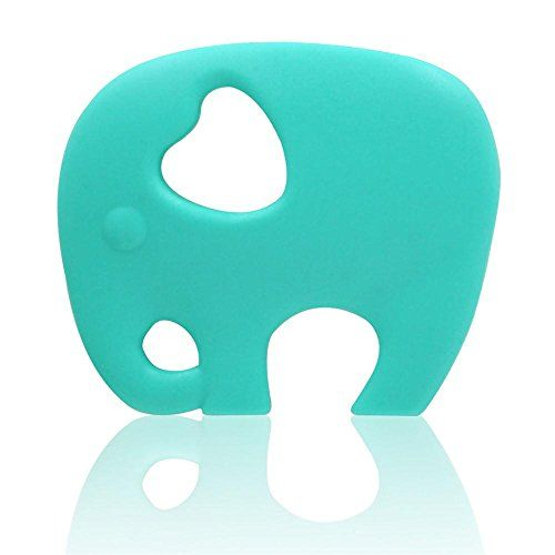 Animal Teether Chew Silicone Baby Teething Toy Ring Elephant BPA Free UK Seller