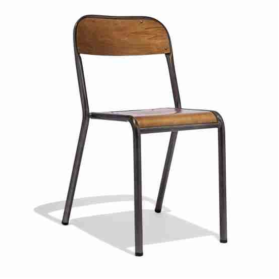 Metal Schoolhouse Chair Is The Perfect Addition To Any Office Or Antique  Inspired Restaurant Furniture.