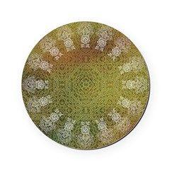 Harvest Lace Cork Coaster