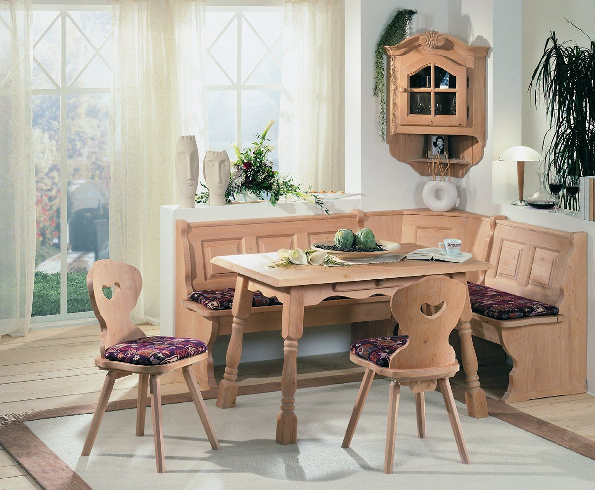 corner bench kitchen breakfast nook booth dining set | corner