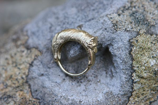 Wrap Ring - Wolf