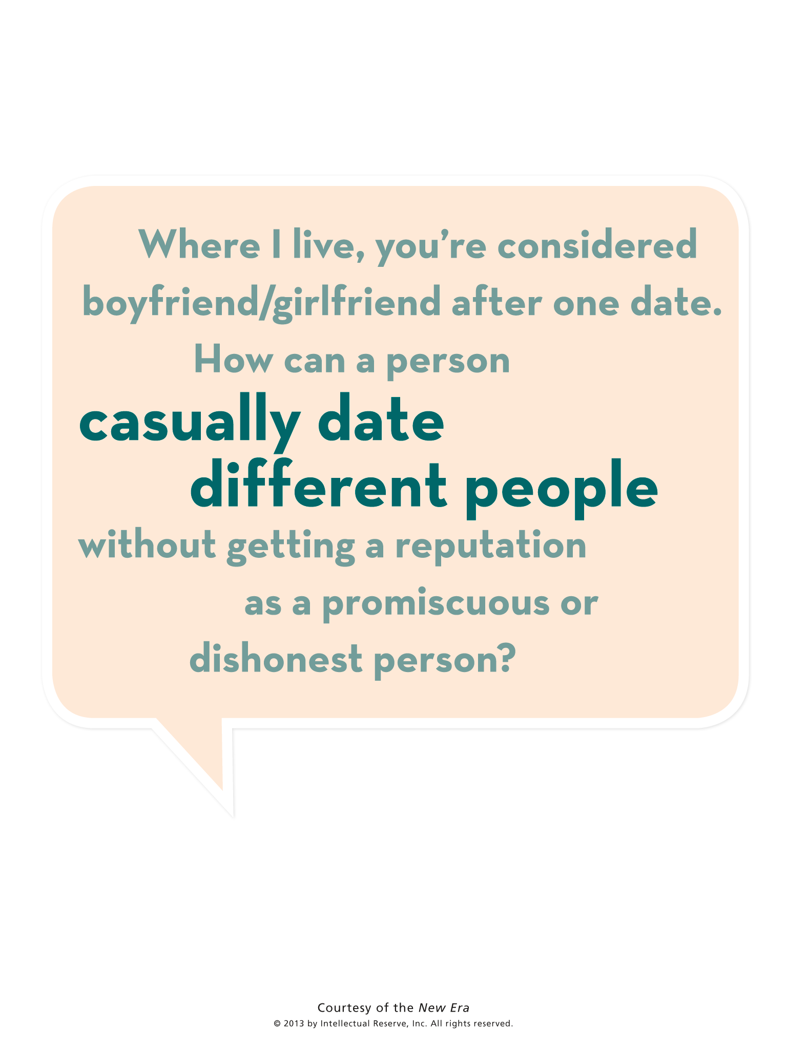 courtship and dating questions ldss