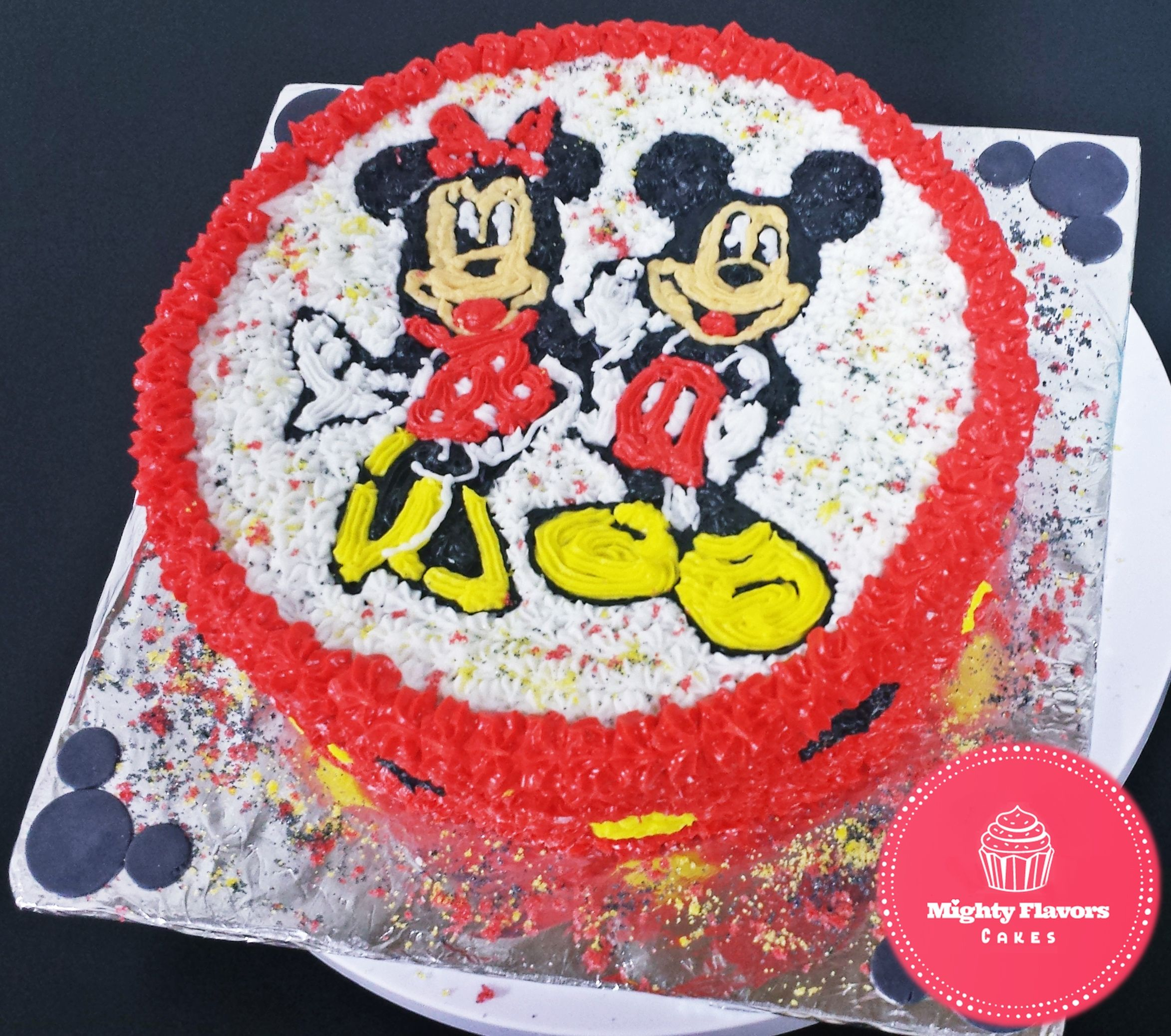 Mickey mouse minnie mouse birthday cake minnie mouse