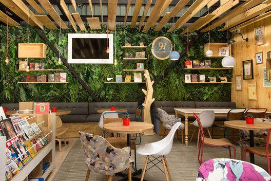Galería de 9 ¾ Café + Librería / PLASMA NODO - 2 Spaces - libreria diseo