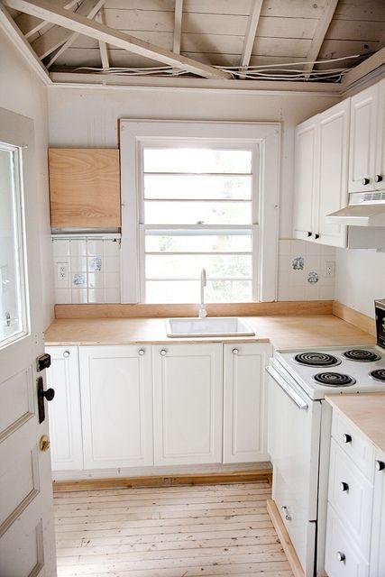 Photo Plywood Countertop Kitchen Bat Countertops Cabinets