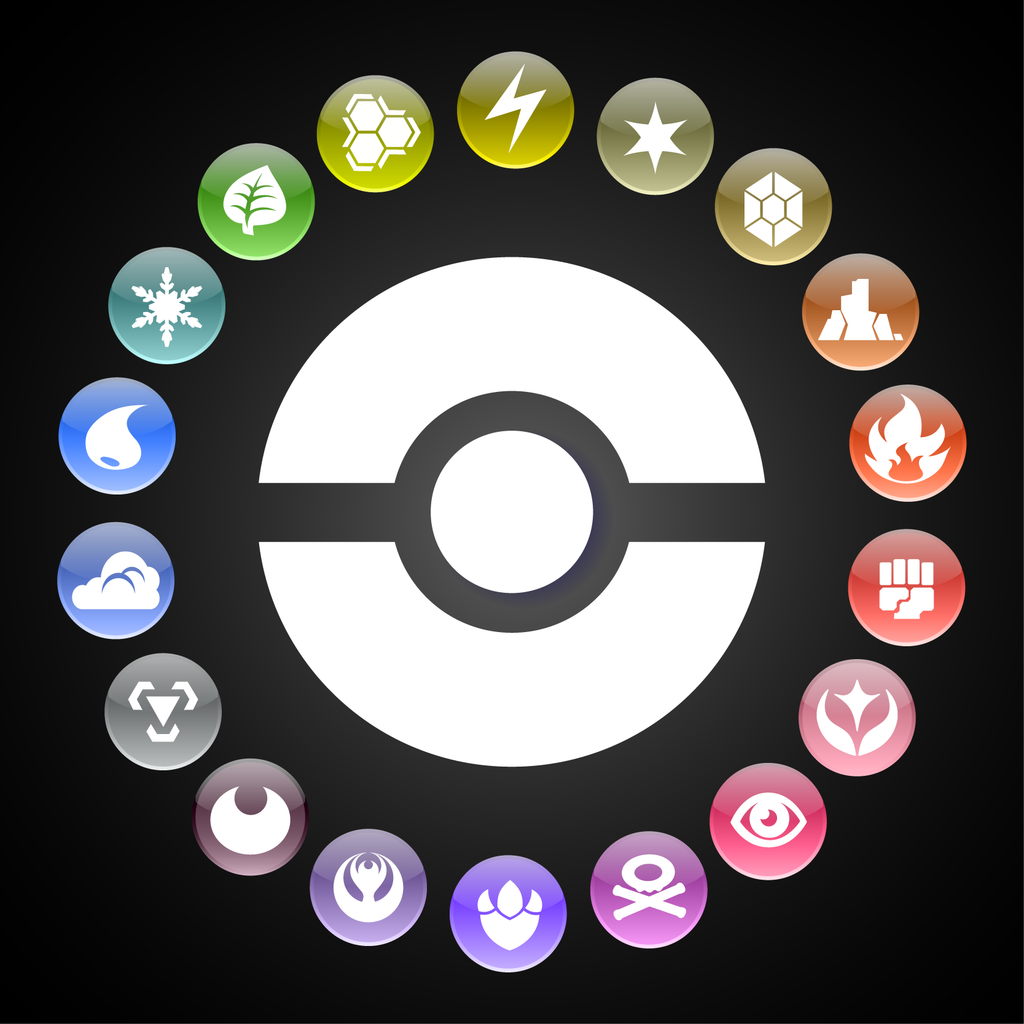 luizvc's Custom Pokemon Type Symbols | Pokémon elements, Pokemon, Pokemon  logo