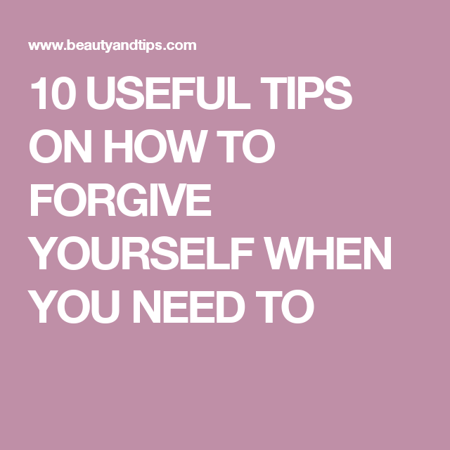 How to forgive yourself for having an affair
