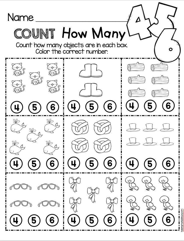 Counting And Cardinality Freebies Counting And