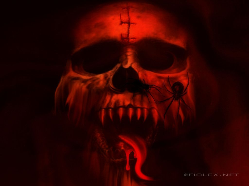 Download Vampire Skull wallpapers to your cell phone other skull