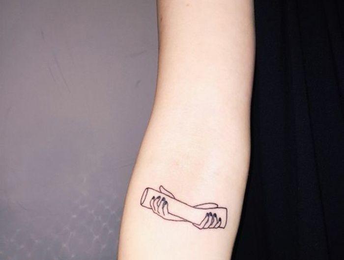 Le meilleur tatouage minimaliste, trouvez votre modèle!