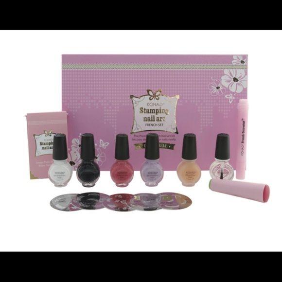 Clearance Sale Konad Nail Kits Konad Stamping Nail Art French Set