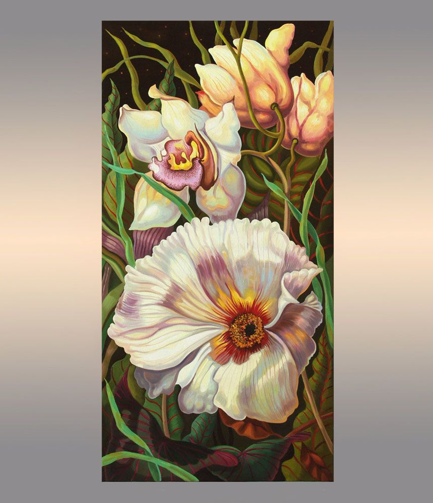 Floral Painting Flowers Oil Painting On Canvas Original Artwork Hand Painted Wall Art By Oliviaartg Oil Painting Flowers Painting Hand Painted Wall Art