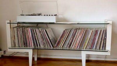 Mueble para vinilos discos pinterest discover more - Vinilo para mueble ...