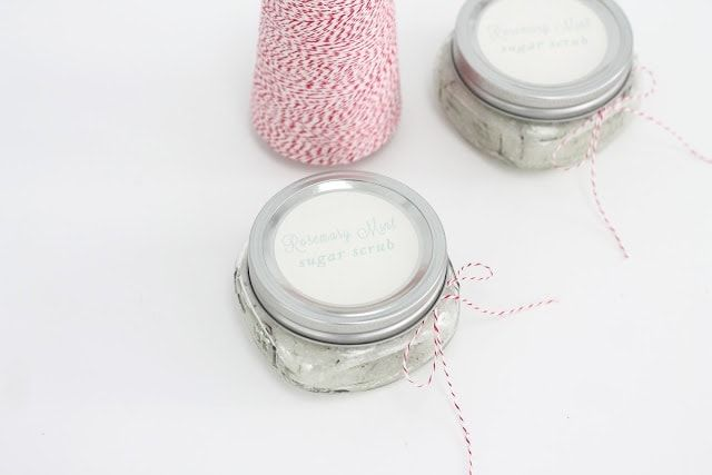 Sugar Scrub makes an easy neighbor, teacher, or friend gift. You can make large batches at a time in just minutes and you'll need to, because you'll want a few for yourself, too. They make your skin feel so incredibly soft and turn your shower into a spa. #sugarscrubrecipe