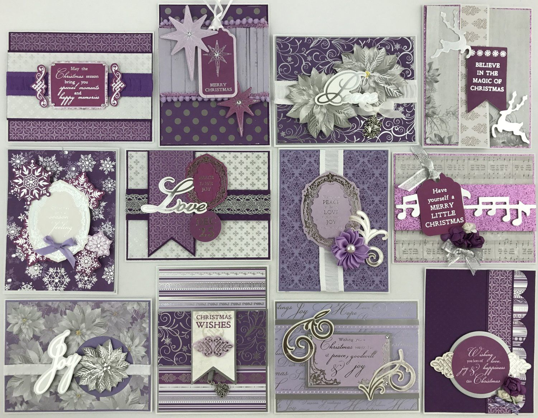 Kaiser Christmas Jewel Card Kit Best source for card kits online ...
