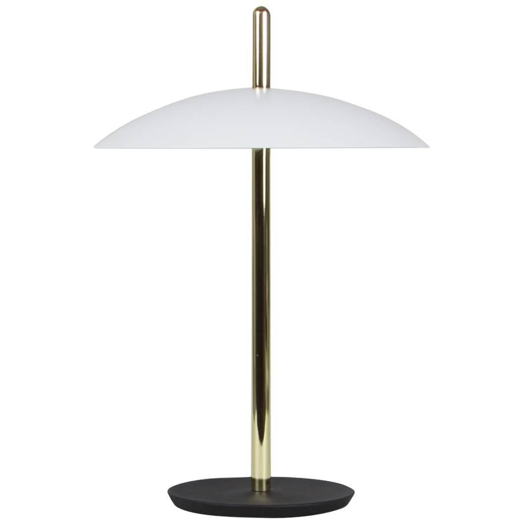 Customizable Signal Table Light From Souda White X Brass Made To Order Modern Desk Lamp Light Table Lamp
