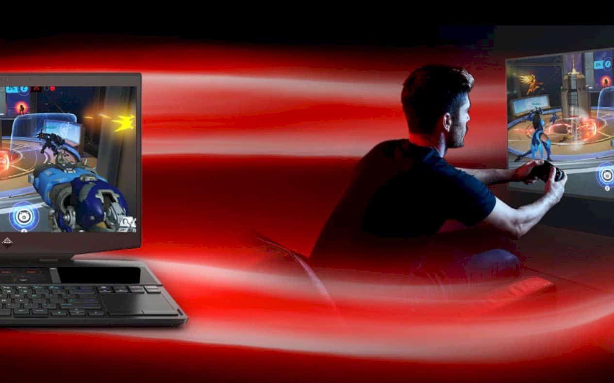 Hp Omen X 2s World S First Dual Screen Gaming Laptop Laptop Design Gaming Laptops Screen Mirroring