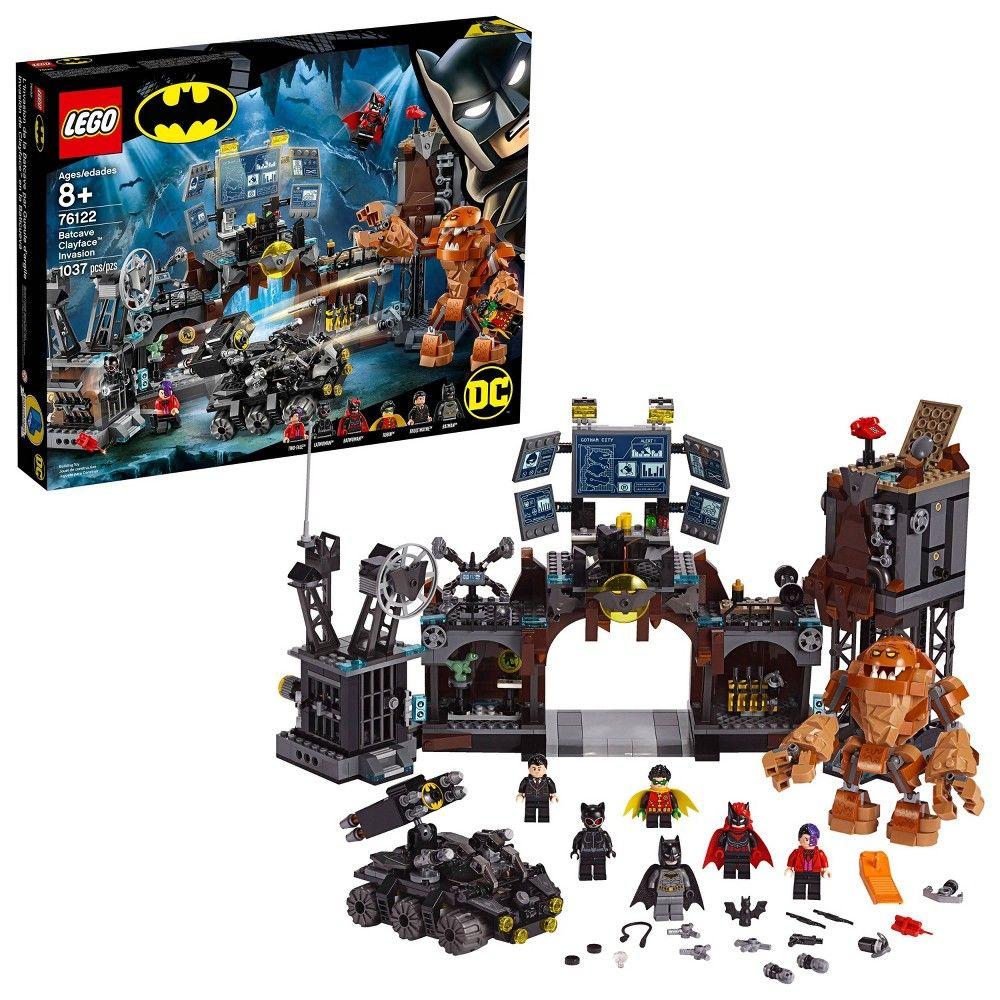 LEGO Super Heroes Batcave Clayface Invasion Batman Toy