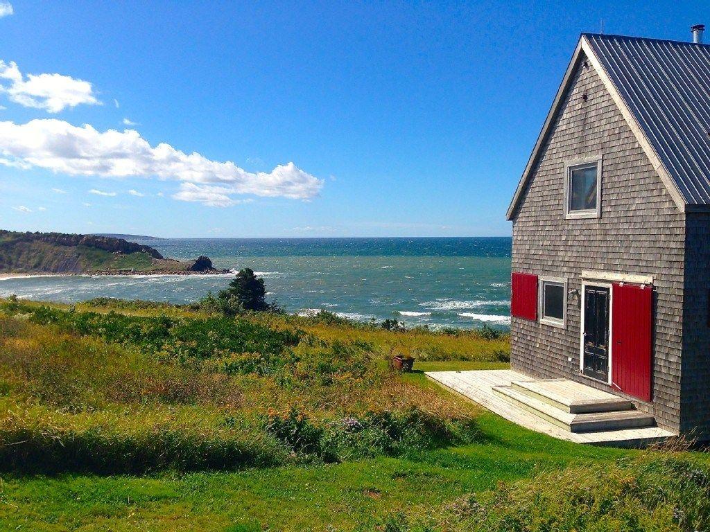 860 Sq Ft Oceanside Cottage In Cape Breton Island Contemporary Cottage Cabin Rentals Cottage