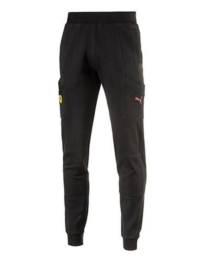 1b368eb3f929 cool NWT Puma Ferrari SF brand Sport Lounge Sweatpants Operating Pants  762138 Black
