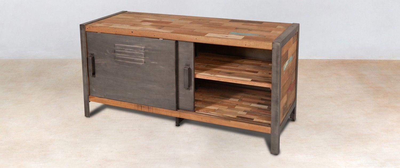 impressionnant meuble tv 120 cm bois Décoration fran§aise