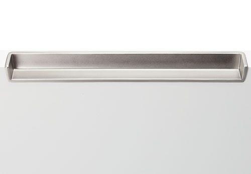 Hafele Inset Handle 180mm Satin Nic   Furniture   Fittings   Cabinet Handles    Inset Handle