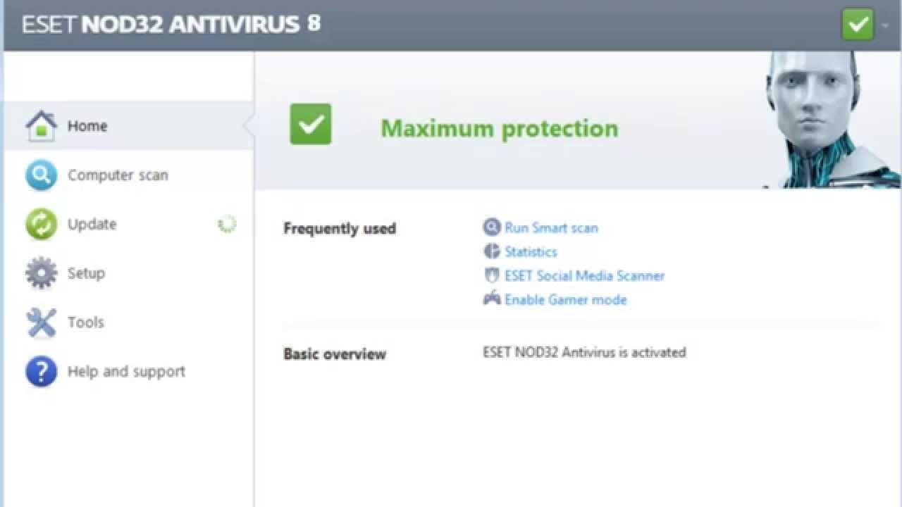 Eset nod32 smart security 9 доступна русская версия.