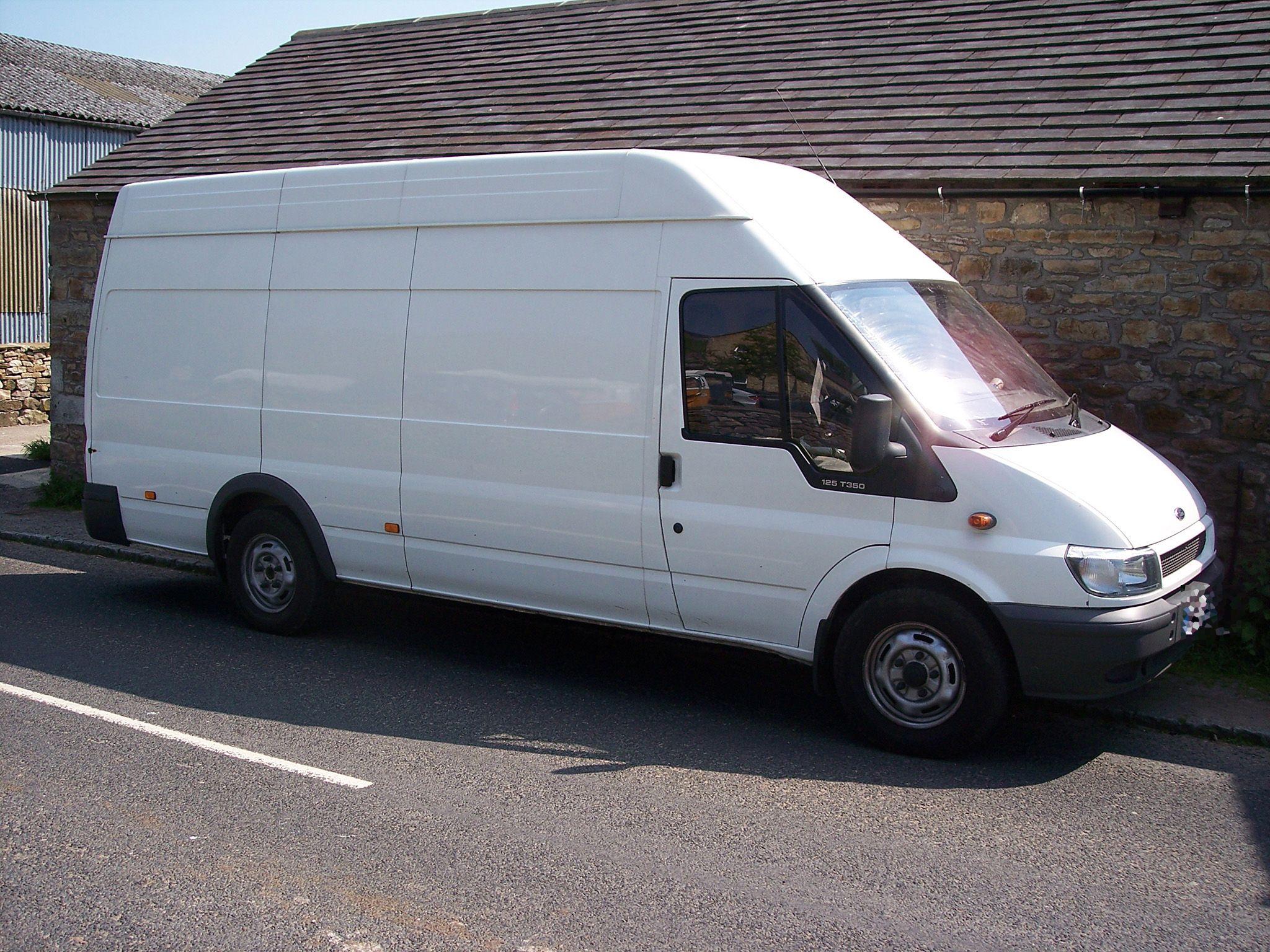 Image Result For White Van Ford Transit Vans Moving Van