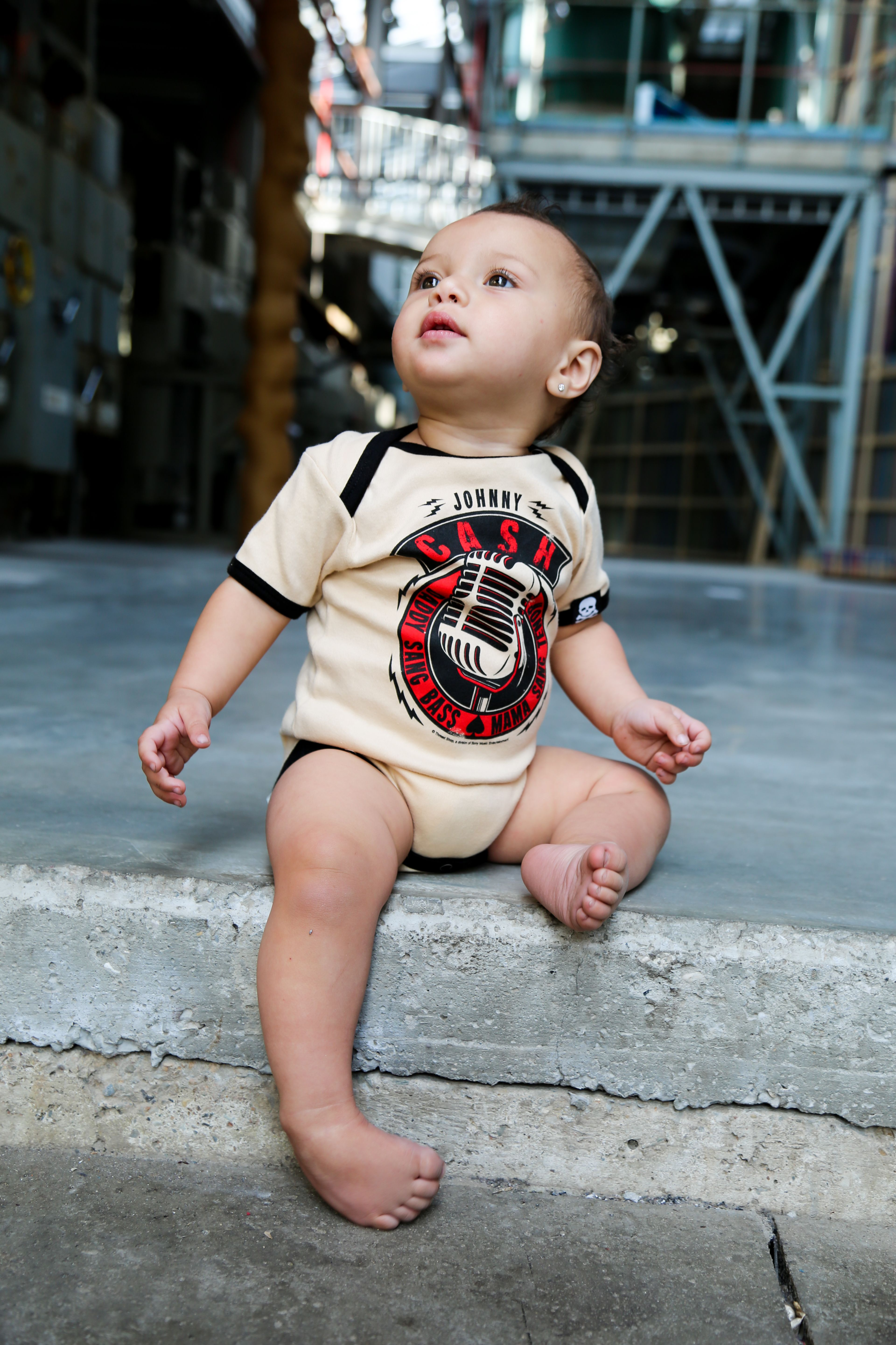 Johnny Cash Baby clothes ready to rock See for yourself s