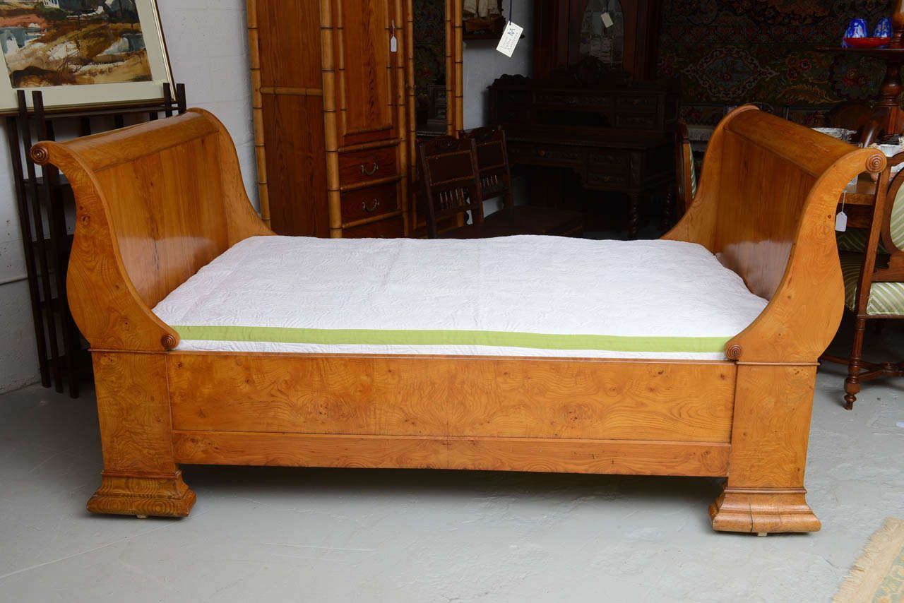 - Swedish Sleigh Bed, Sofa, Daybed, Circa 1850 From A Unique