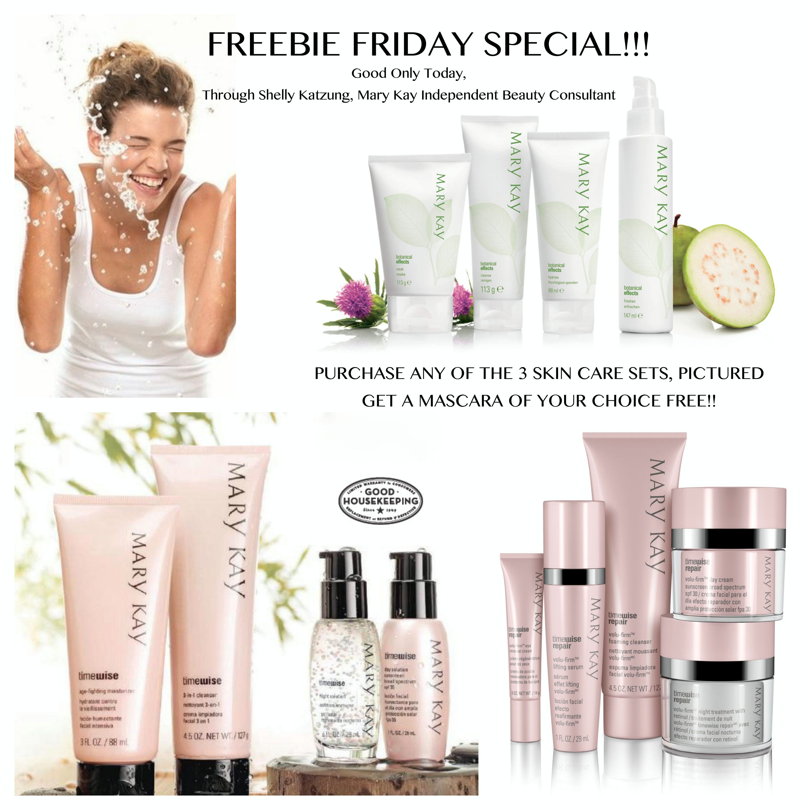 FREEBIE FRIDAY!! Purchase either the TimeWise Repair Set
