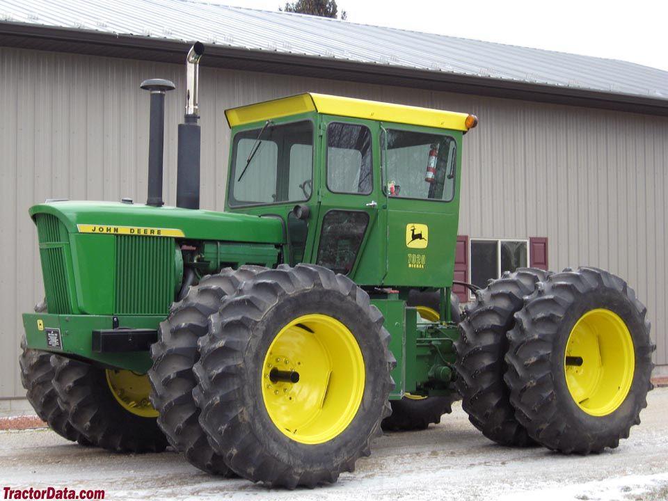 John Deere 7020 Tractors made in Waterloo IA Pinterest