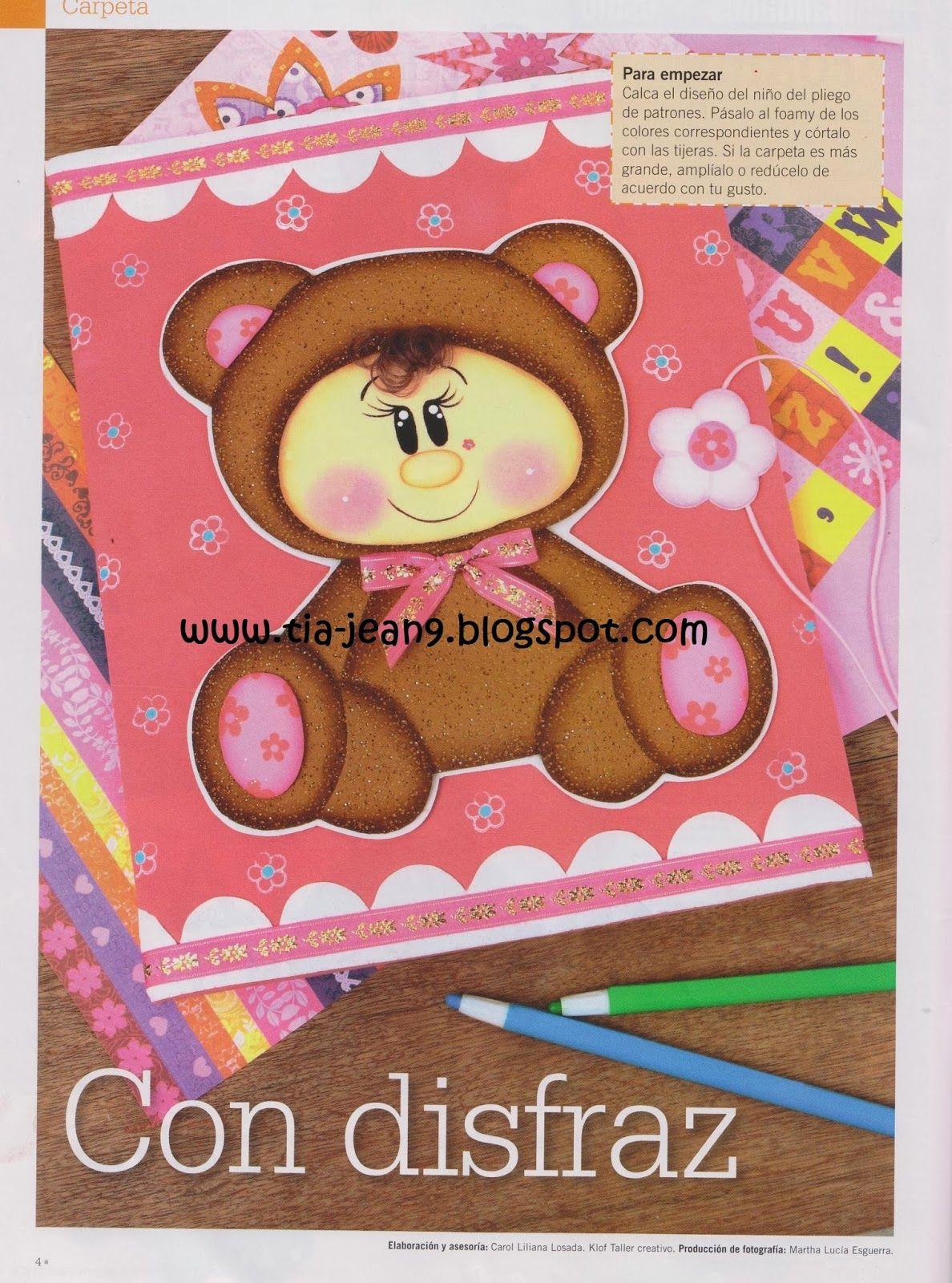 Oso Bebe Portada De Cuaderno