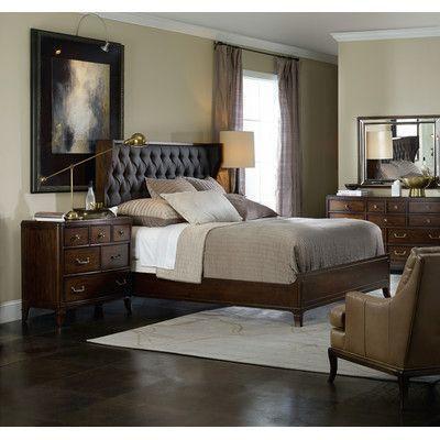 hooker furniture palisade panel customizable bedroom set reviews