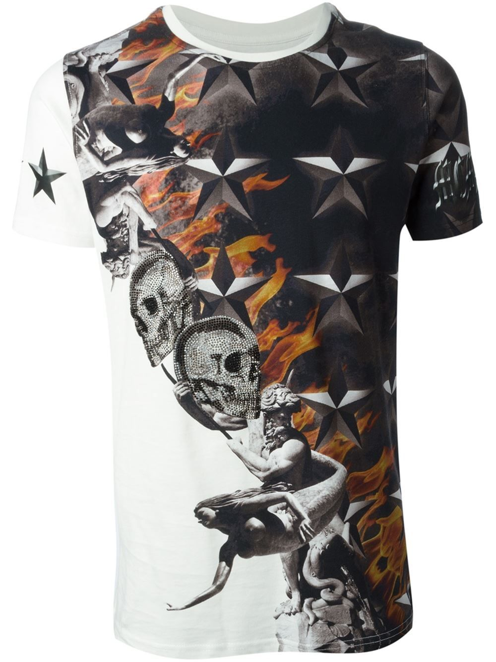 eedfec5a93f1 Philipp Plein  tomorrow  T-shirt - Verso - Farfetch.com   t-shirts ...