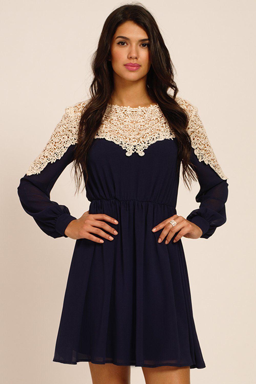 A long sleeve dress # 008040837