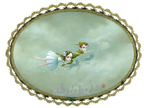 """The Night Flight of Peter Pan and Wendy"" by Mab Graves"