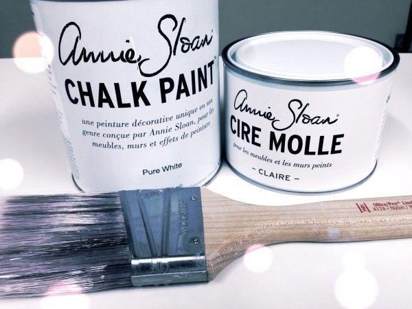 Retaper ses meubles avec la peinture  la craie