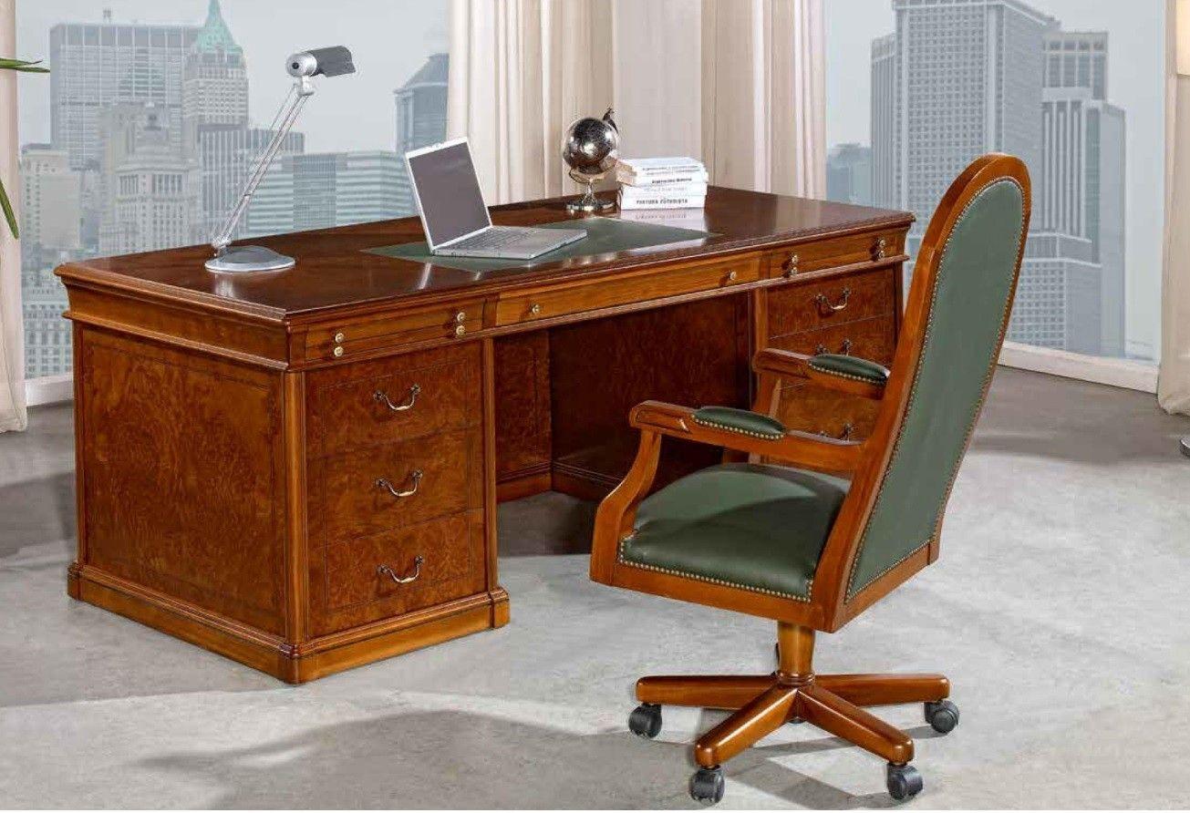 Muebles despacho clasico great muebles de oficina clasico for Muebles de oficina clasicos