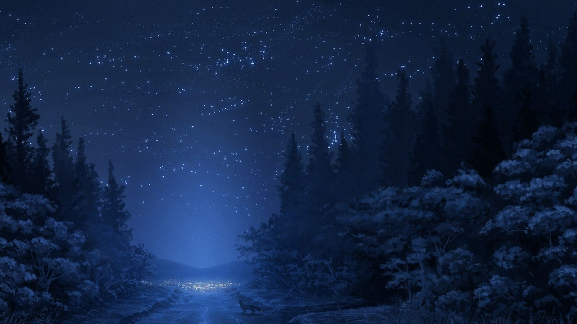 Winter A Relaxing Night 1920x1080 Z Need Iphone 6s Plus Wallpaper Background For Ip Anime Scenery Anime Scenery Wallpaper Winter Night Wallpaper