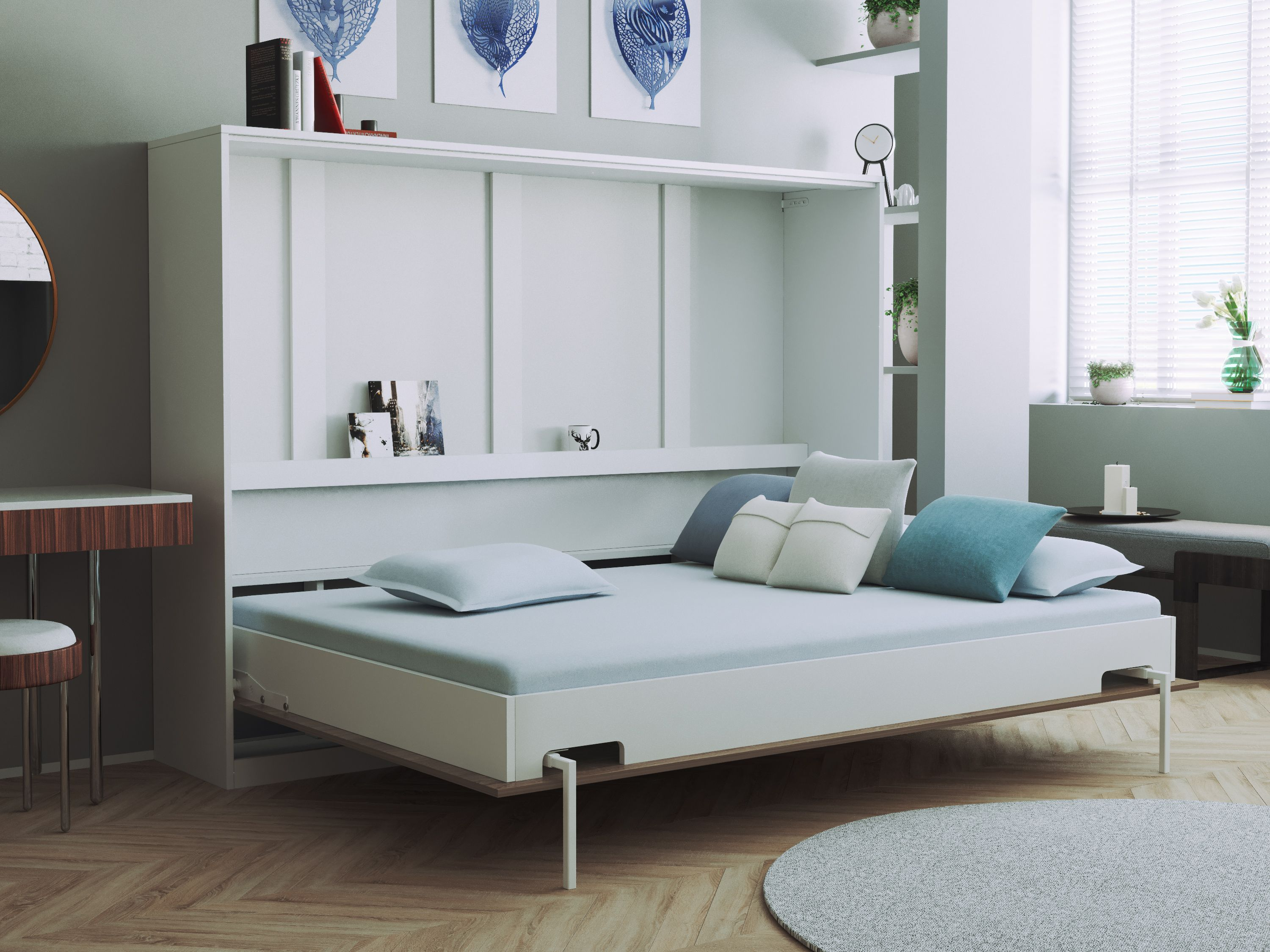 Schrankbett Smartbett Basic Serie Murphybed Design Furniture