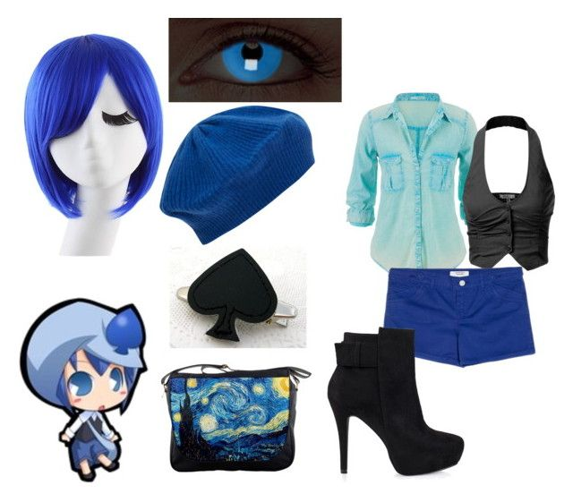 Shugo Chara: Miki by alix1221 on Polyvore featuring polyvore fashion style maurices J.TOMSON MANGO Nly Shoes Cash Ca clothing