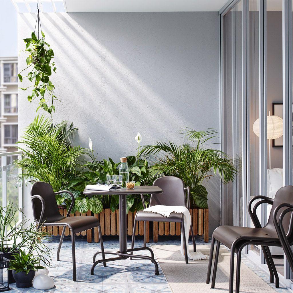 Beautiful Hanging Balcony Table Ikea